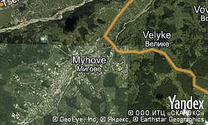 Map of  village Myhove