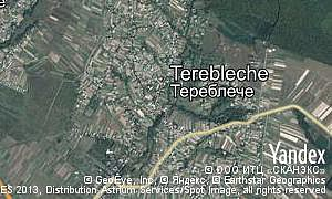 Map of  village Terebleche
