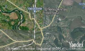 Map of  village Cherepkivtsi