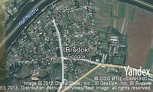 Map of  village Brodok