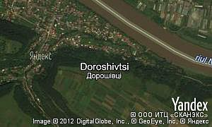 Map of  village Doroshivtsi