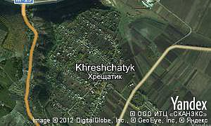 Map of  village Khreshchatyk