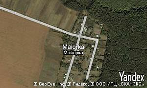 Google map of  village Maiorka
