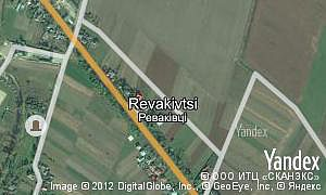 Map of  village Revakivtsi