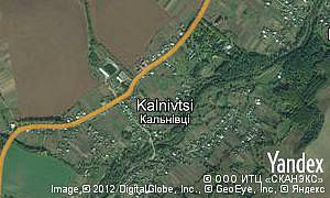 Map of  village Kalnivtsi