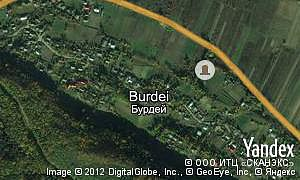 Map of  village Burdei