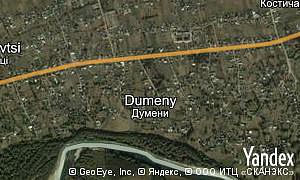 Google map of  village Dumeny