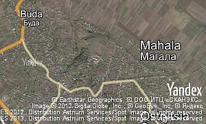 Map of  village Mahala