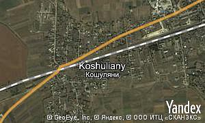 Map of  village Koshuliany