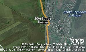 Map of  village Rynhach