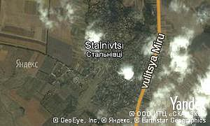 Map of  village Stalnivtsi