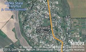 Map of  village Strointsi