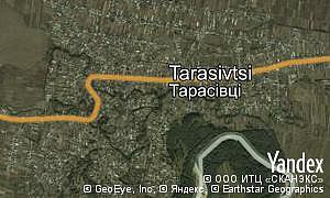 Google map of  village Tarasivtsi