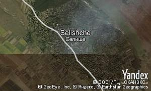 Google map of  village Selishche