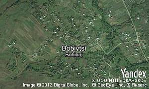 Map of  village Bobivtsi
