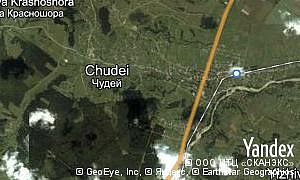 Map of  village Chudei