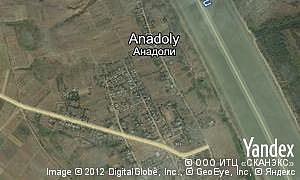 Map of  village Anadoly